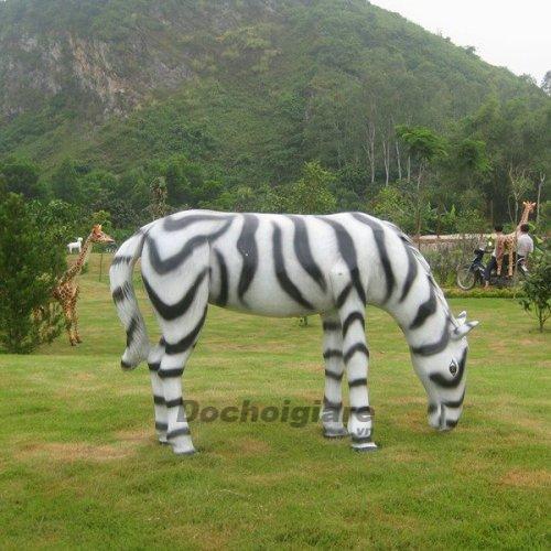Tượng con Ngựa vằn