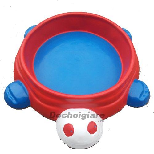 Bể chơi cát nước con Rùa
