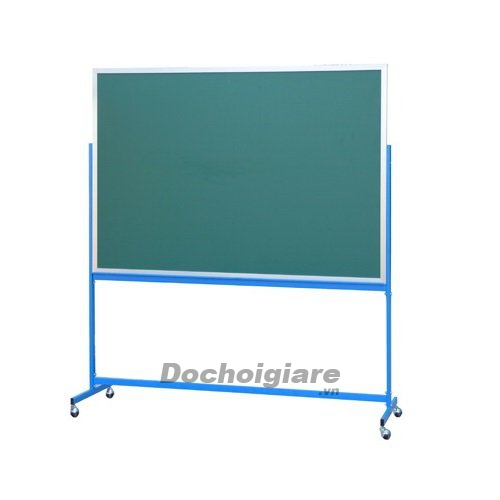 Bảng quay 2 mặt nền xanh