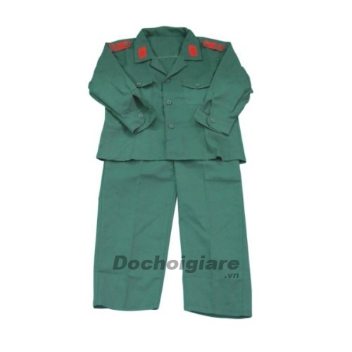 Bộ trang phục bộ đội cho bé
