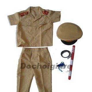 Quần áo công an cho bé