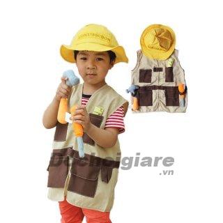 Bộ trang phục công nhân cho bé