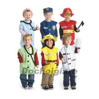 Bộ trang phục nghề nghiệp cho bé