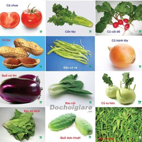 Lô tô rau củ quả